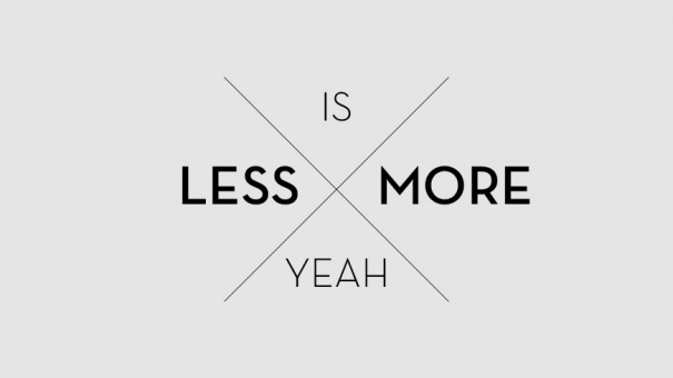 less_is_more