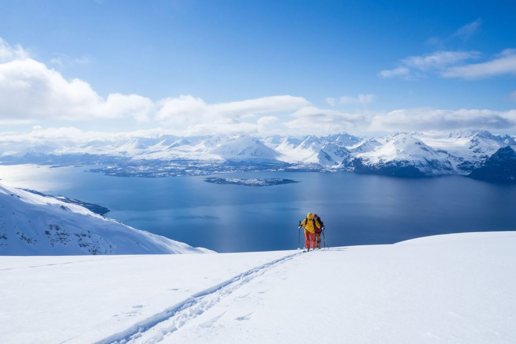 Ski Touring Lyngen Alps Norway